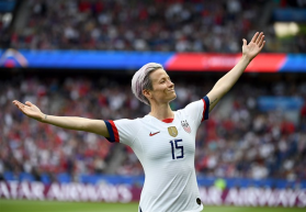 'Stand against racism and sexism,' Rapinoe asks Messi and Ronaldo to step up