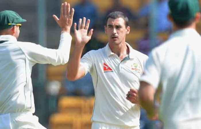 Australia's Starc ruled out of India tour with fractured foot