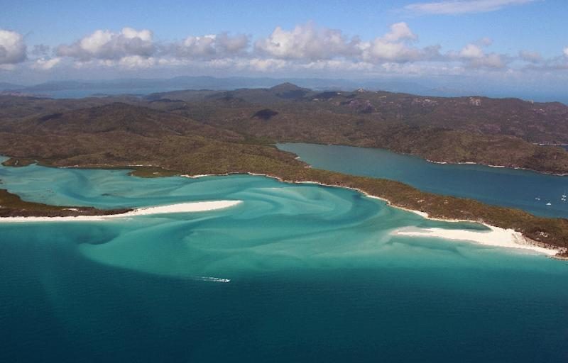 The Whitsunday Islands and Great Barrier Reef Marine Park off the east coast of Australia are known for their extraordinary natural beauty and marine life