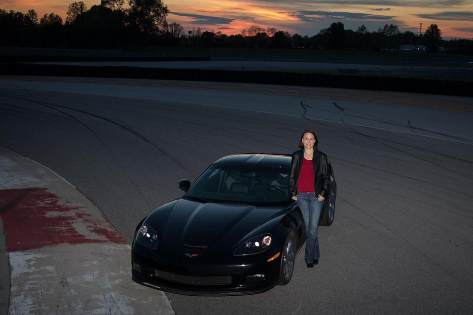 <em>During the NASCAR on NBC Podcast, Laura Wontrop Klauser discusses her lifelong love of the automobile and being a Corvette owner off the track (GM Racing).</em>