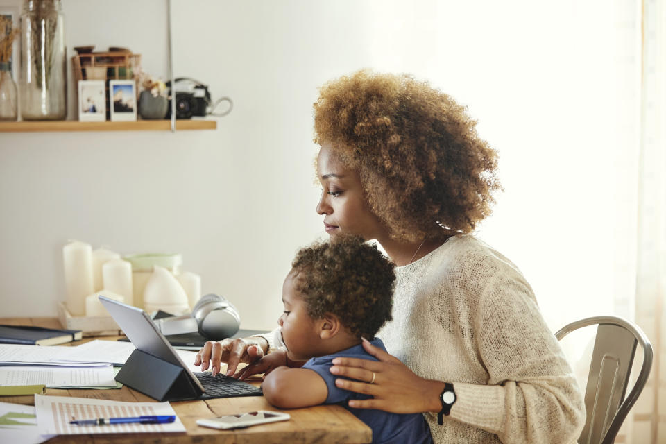 Two in five working mothers feel held back for promotion