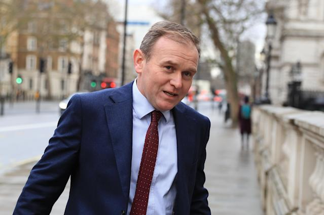 UK environment minister George Eustice. (PA)