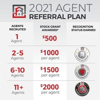 Fathom 2021 Agent Referral Plan