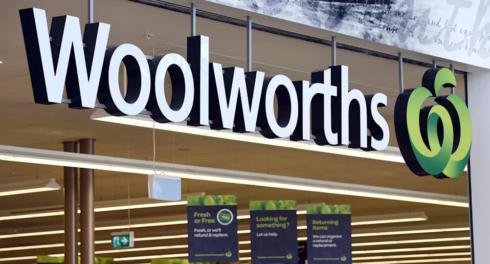 Woolworths shop shown after plastic bits were found in a party pie.