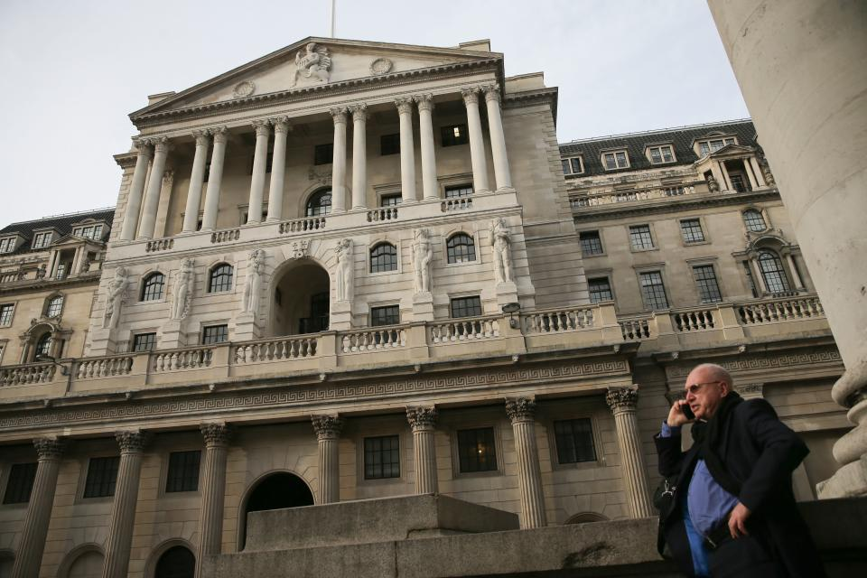 The Bank of England has acted to increa. Getty Images