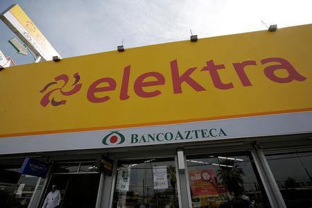 A store of banking and retail company Elektra is pictured in Ciudad Juarez, Mexico, April 11, 2017. REUTERS/Jose Luis Gonzalez