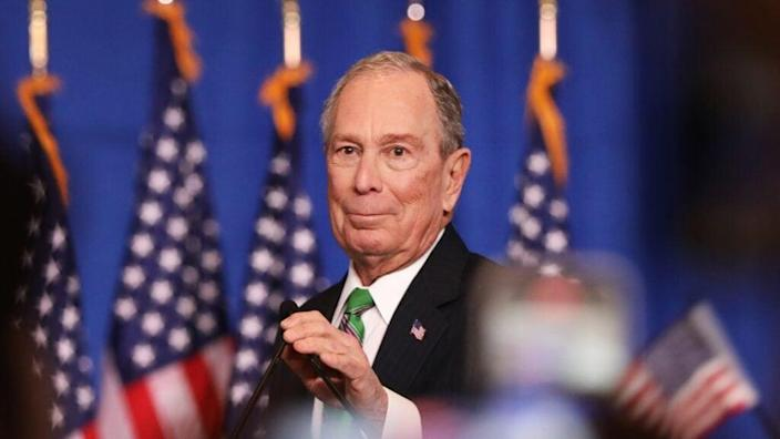 Former New York mayor and ex-Democratic presidential candidate Mike Bloomberg has donated millions to pay the court fees and fines for more than 30,000 Florida voters with felonies, allowing them to vote in November's election. (Photo by Spencer Platt/Getty Images)