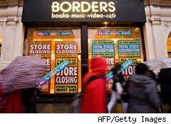 In the latest news of Borders's troubles, the company's chief financial officer Mark Bierley has resigned