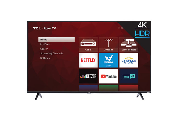 "TCL 4-Series 55"" 4K Roku Smart TV"