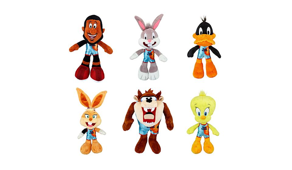 Animated icons and an NBA All-Star, now in huggable form. (Photo: Walmart)