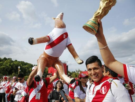 Peruvian fans are in Russia to support their country's World Cup return after a 36 year absence