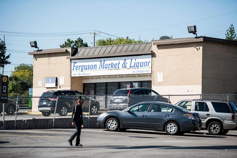 Michael Brown stole a pack of cigarillos from the Ferguson Market Liquor before his 2014 death. (Damon Dahlen / HuffPost)