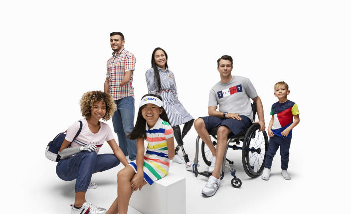 From the campaign for the Adaptive collection by Tommy Hilfiger