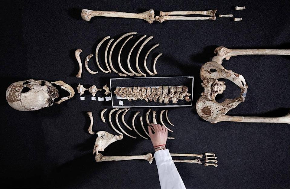 Britain's oldest complete skeleton was found more than 100 years ago (PA)