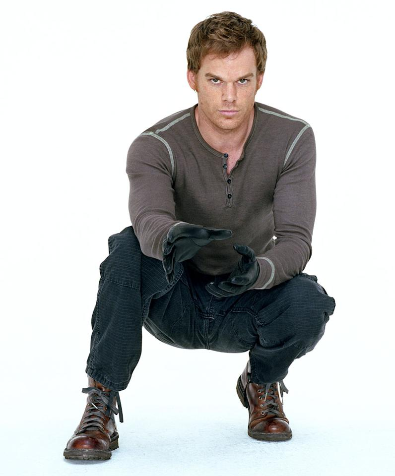 "<a href=""/michael-hall/contributor/477732"">Michael C. Hall</a> receives a Best Actor (Drama) Golden Globe nomination for his role as Dexter on  <a href=""/dexter/show/38195"">Dexter</a>."