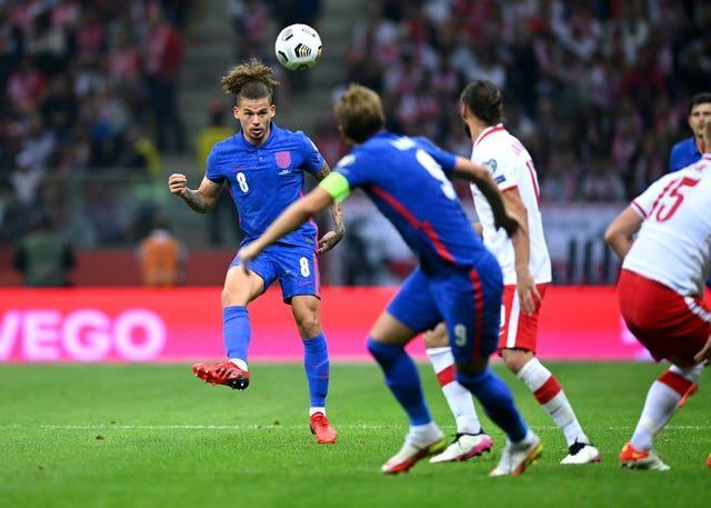 Kalvin Phillips produced another solid England display in Wednesday's 1-1 draw against Poland