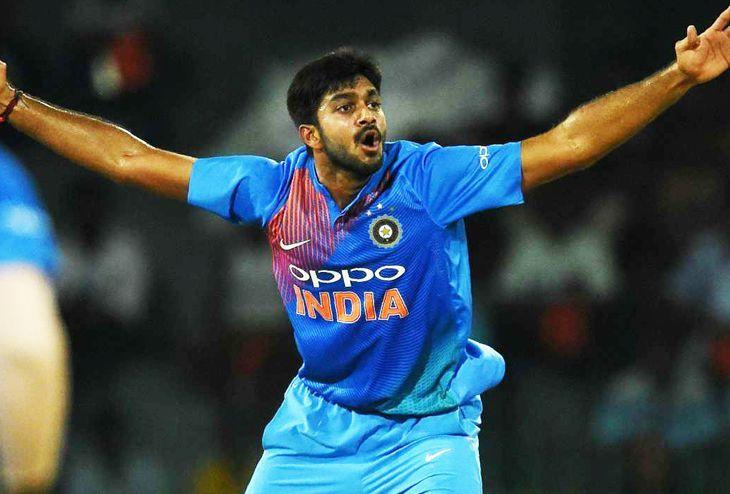 Vijay Shankar - The sixth bowling option