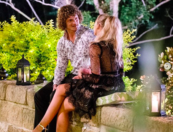Cass had previously dated Nick before going on The Bachelor. Photo: Channel Ten
