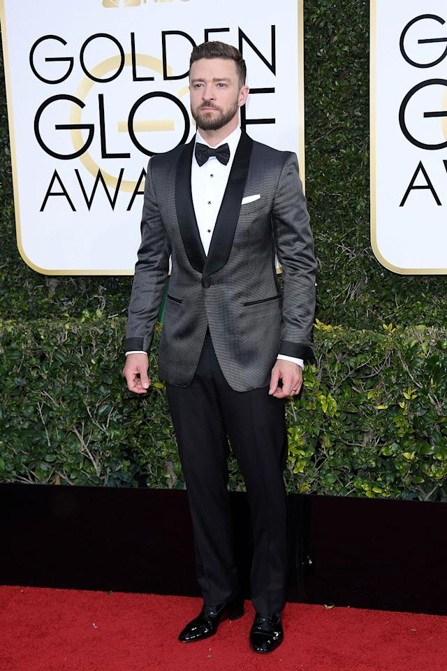 <p>The singer wore a Tom Ford look to the 74th Annual Golden Globe Awards. (Photo: Getty Images) </p>