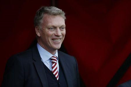 Sunderland manager David Moyes before the match