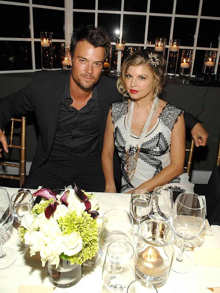 """Newylweds Josh Duhamel and Fergie make an attractive pair. The dreamy Duhamel is still sporting a tan from their tropical honeymoon! John Shearer/<a href=""""http://www.wireimage.com"""" target=""""new"""">WireImage.com</a> - February 4, 2009"""