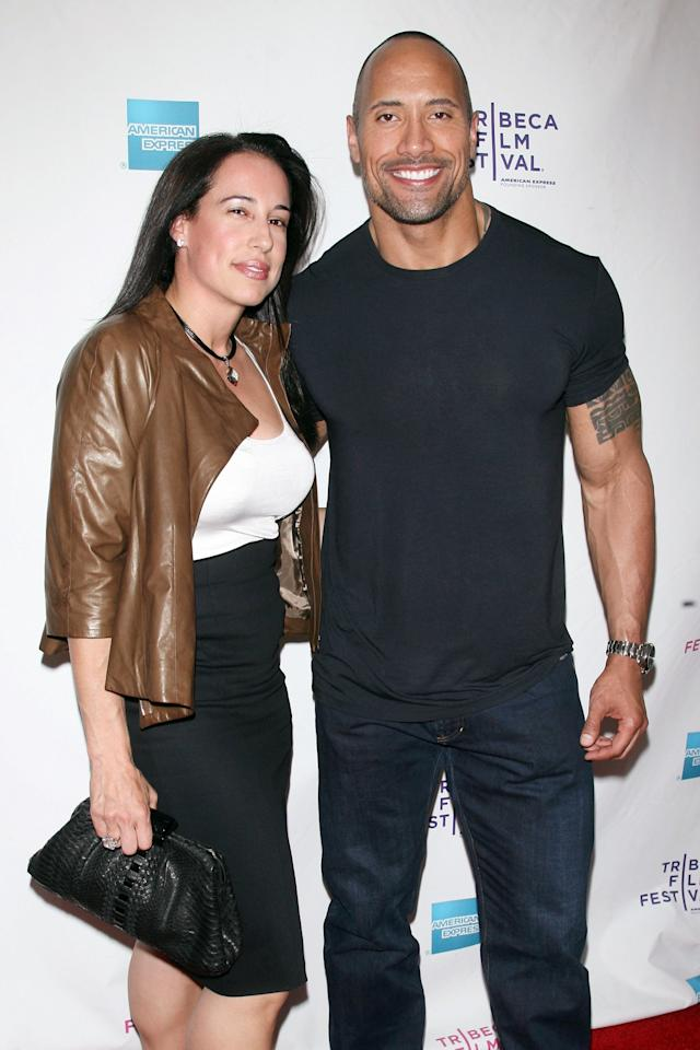 "Johnson and his producer ex have continued to collaborate on blockbusters since their 10-year <a href=""https://people.com/movies/dwayne-johnson-says-he-became-depressed-after-his-2007-divorce-i-was-just-struggling/"">marriage ended</a> in 2007. ""It's not [easy],"" <a href=""https://www.youtube.com/watch?v=gtPIpYvhJ2s"">he told E!</a> about working together post-breakup at the premiere of <i>Hobbs & Shaw</i>, which Garcia executive produced. ""For everybody out there, relationships aren't easy, marriages aren't easy, you gotta work at it.""  ""You never sign up for divorce … And we started out as friends and through divorce we still remain friends, but that kind of stuff takes a lot of work,"" the actor continued. ""A lot of times you see the glitz and the glamour of here in Hollywood and it's a big premiere, but that's the kind of sludgy stuff that everybody goes through. You gotta get your therapy and you got to go through it. But I always tell people and I always tell couples who are going through it — especially the dudes who seek out my advice who are like, 'How did you do it?' — I always say, 'You gotta put in the work, and just remember that you were friends beforehand.' Like, try to think about things like that, and think about your goals.""  Garcia and Johnson are parents to 17-year-old daughter Simone Alexandra Johnson."