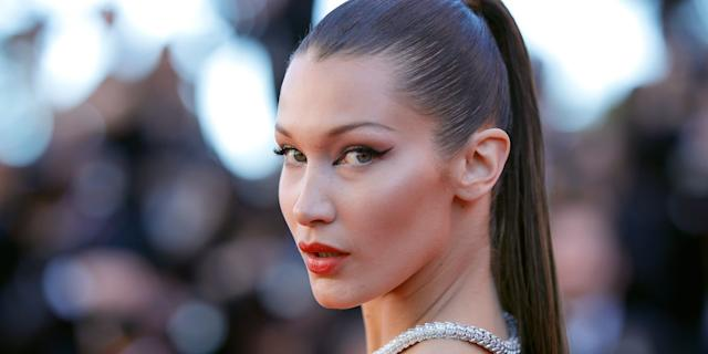 Bella Hadid living her best life in Tokyo. (Photo: Getty)