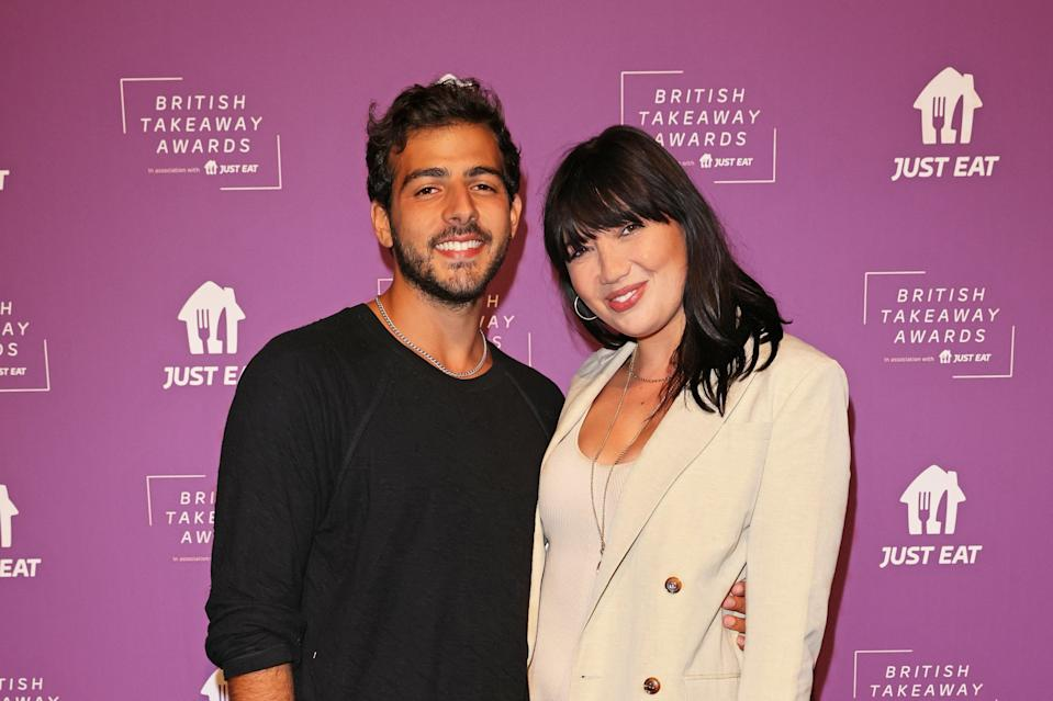 Daisy Lowe and Jordan Saul (Dave Benett/Getty Images for Just Eat)