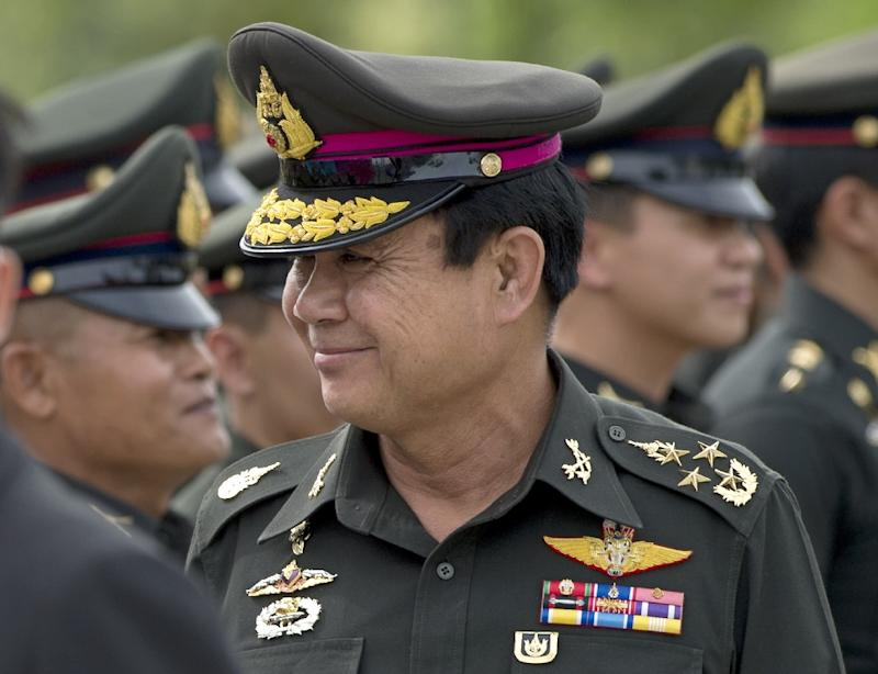 Thailand's Prime Minister Prayut Chan-O-Cha, pictured in August 2014