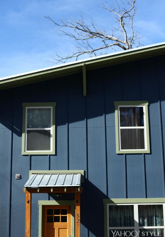 <p>This house is part of an emerging green home neighborhood in West Asheville. It's very energy-efficient, which was a priority for the couple, with a metal roof that makes the dreamiest sound when it rains.</p>