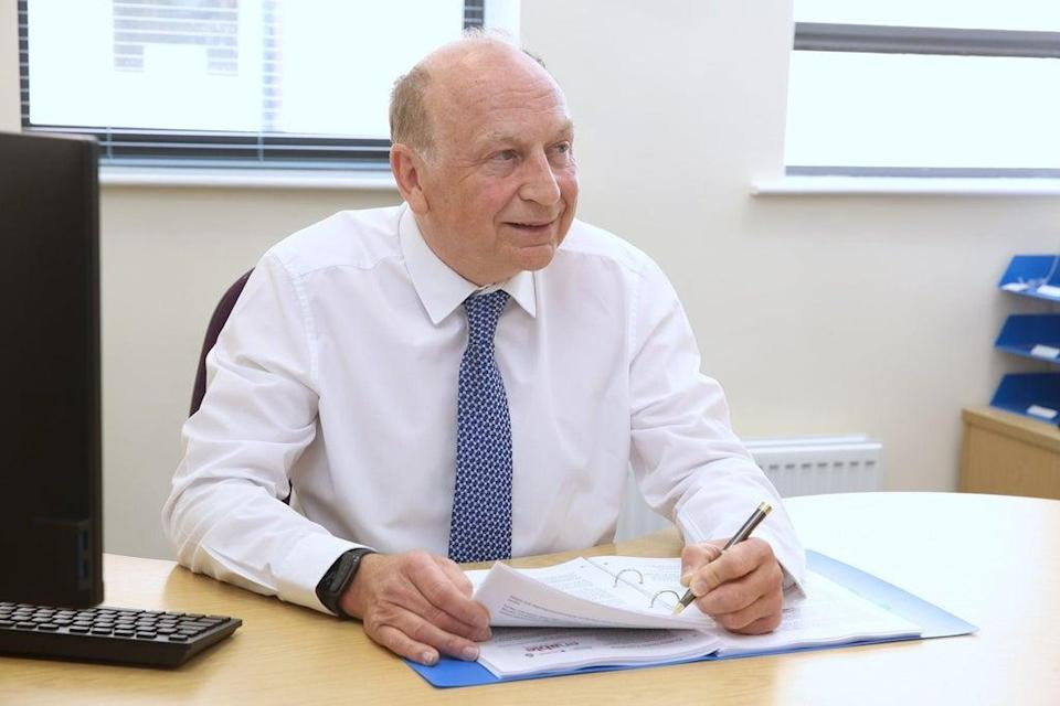 Philip Allott said he apologised 'unreservedly' for his remarks  (Office of the North Yorkshire Police, Fire & Crime Commissioner)