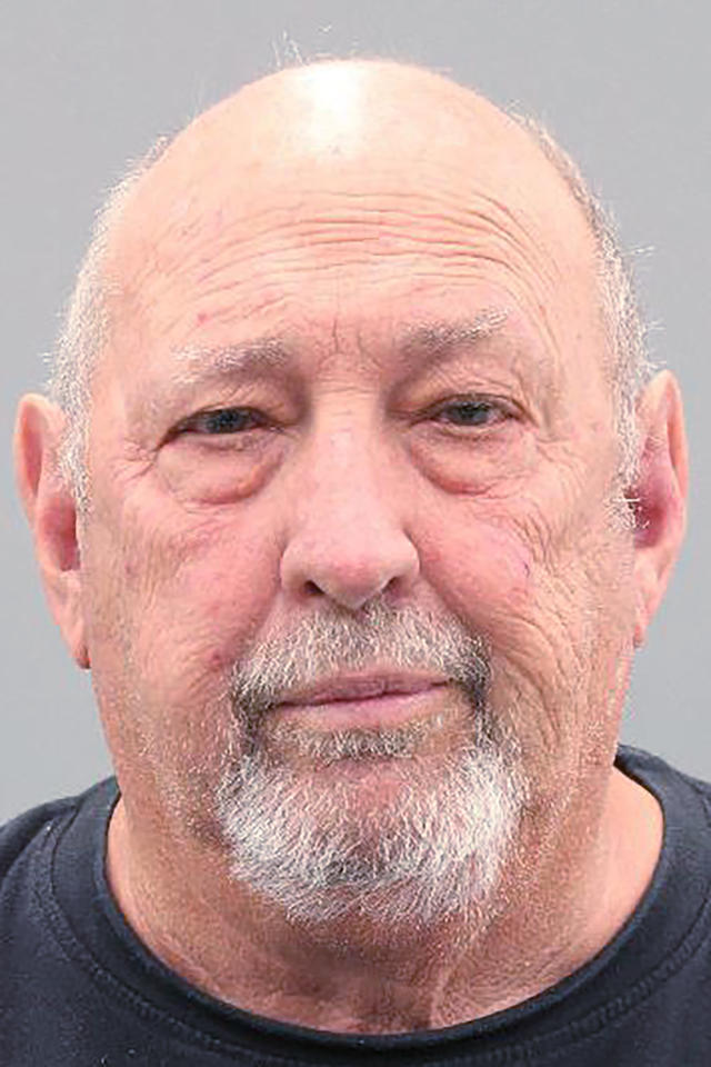 This undated photo provided by the Harris County District Attorney's Office shows James Dinkins. Dinkins, an Astros fan is facing an assault charge after being accused by authorities of slapping a New York Yankees fan after the two got into an argument at Houston's Minute Maid Park during the second game of the AL Championship Series Sunday, Oct. 13, 2019 in Houston, Texas. Dinkins was arrested on the misdemeanor charge after police say he slapped the Yankees fan in the back of the head after he cheered for the New York team during the game. (Harris County District Attorney's Office via AP)