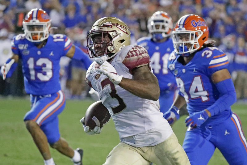 Florida State RB Akers to enter draft, won't play in bowl