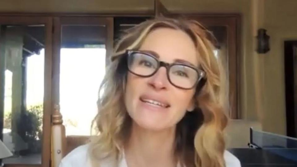 Julia Roberts is taking part in the Pass The Mic project on Instagram (Pass The Mic/ONE Campaign)