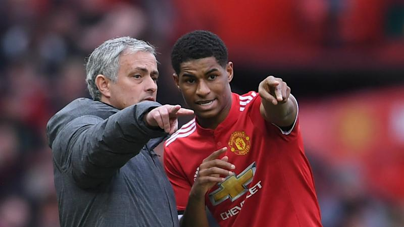 Only 11 can start – Mourinho bristles at Rashford Martial questioning