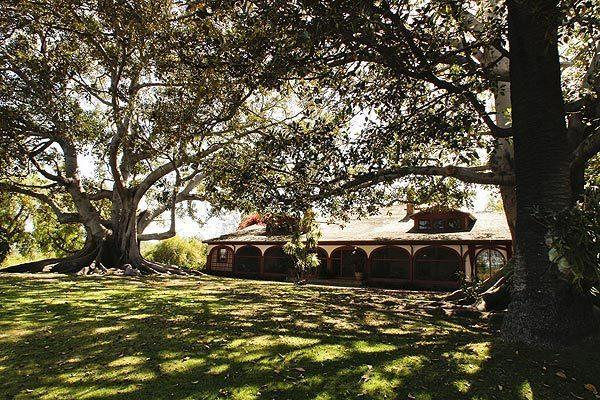 """The historic Bixby ranch house sits on the 7.5-acre Rancho Los Alamitos in Long Beach. <span class=""""copyright"""">(Anne Cusack/Los Angeles Times)</span>"""