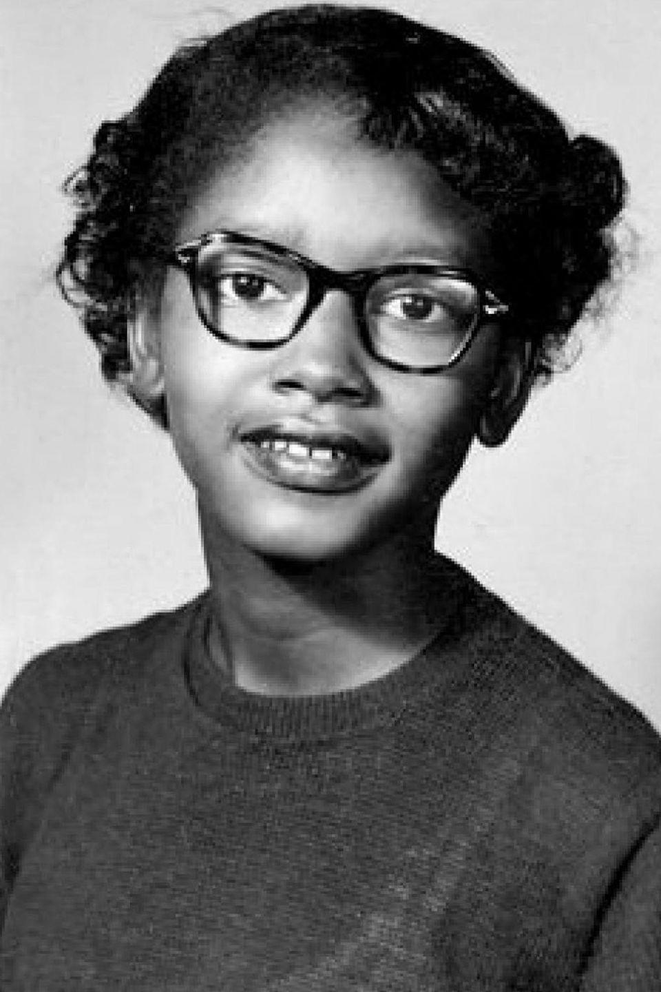 "<p>Colvin was 15 when she became a major player in the Civil Rights Movement by refusing to give up her bus seat to a caucasian rider. This was nine months before Rosa Parks was arrested for the same thing. She was one of the four plaintiffs involved in the Supreme Court case that ultimately outlawed segregation on Alabama buses. Colvin has said about her experience, ""I feel very, very proud of what I did. I do feel like what I did was a spark and it caught on.""</p>"