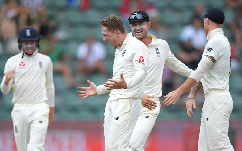 Dom Bess took five wickets to put England into a promising position in the third Test against South Africa - Getty Images Europe