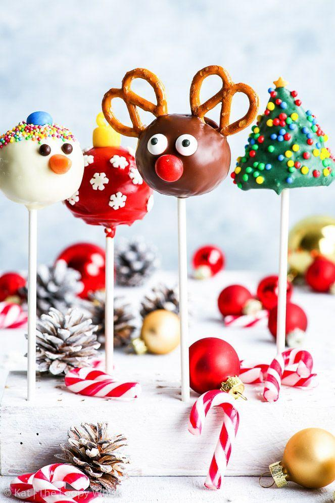 """<p>Pick your poison! This blogger offers recipes for snowmen, reindeer, Christmas tree, and ornament cake pops. </p><p><strong>Get the recipe at <a href=""""https://theloopywhisk.com/2017/12/11/gluten-free-christmas-cake-pops-4-ways-video/"""" rel=""""nofollow noopener"""" target=""""_blank"""" data-ylk=""""slk:The Loopy Whisk"""" class=""""link rapid-noclick-resp"""">The Loopy Whisk</a>. </strong></p><p><strong><strong><a class=""""link rapid-noclick-resp"""" href=""""https://www.amazon.com/Lollipop-sticks-100-count-inch/dp/B000W5CGR8?tag=syn-yahoo-20&ascsubtag=%5Bartid%7C10050.g.22841709%5Bsrc%7Cyahoo-us"""" rel=""""nofollow noopener"""" target=""""_blank"""" data-ylk=""""slk:SHOP LOLLIPOP STICKS"""">SHOP LOLLIPOP STICKS</a></strong><br></strong></p>"""