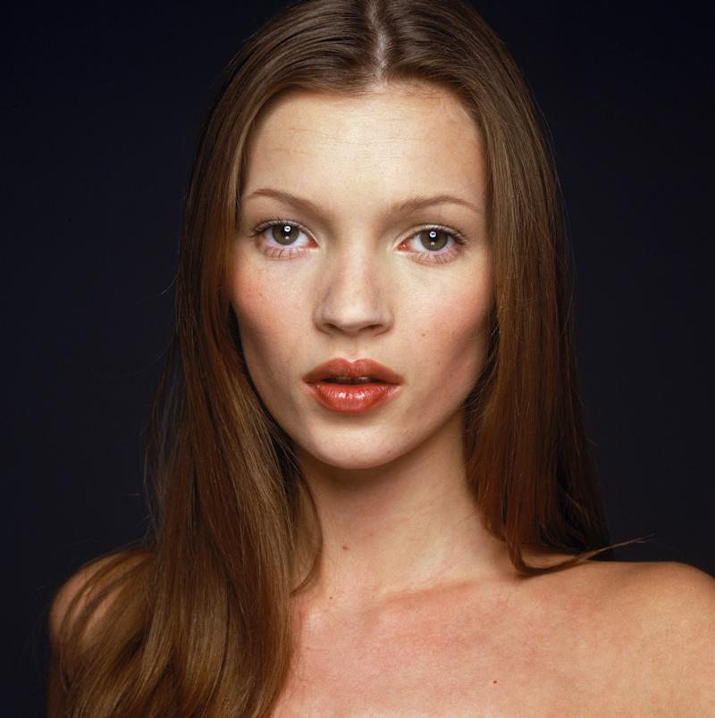 Kate Moss' 1995 headshot has undeniable similarities to her daughter's. [Photo: Getty]
