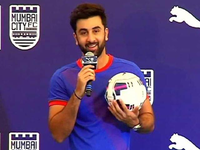 Ranbir Kapoor: The actor loves the game to bits and that is what made him become the  co-owner of a football team in ISL (Indian Super League).