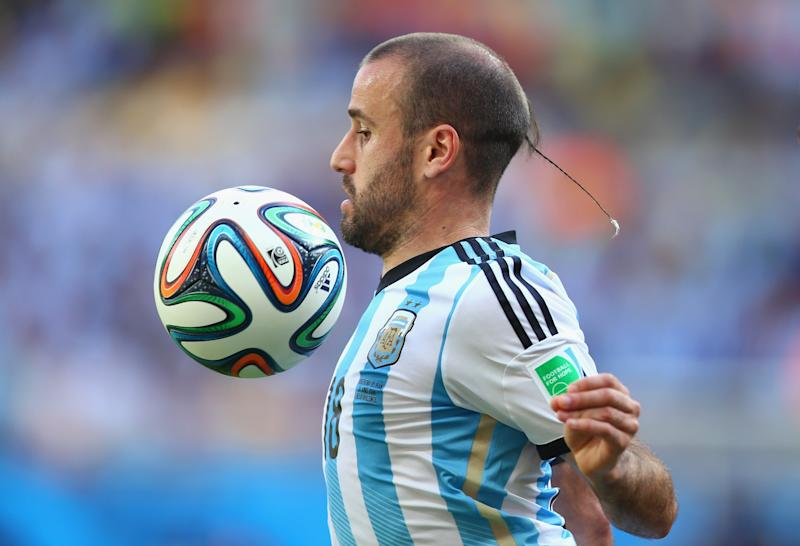 I don't know much about Rodrigo Palacio of Argentina. But I know I don't like whatever this is.