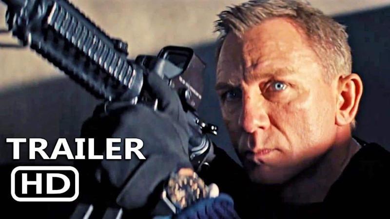 New trailer debuts for upcoming James Bond film 'No Time to Die'