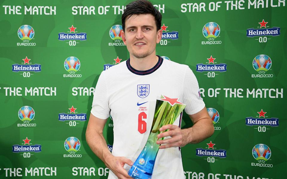 Harry Maguire - UEFA via Getty Images
