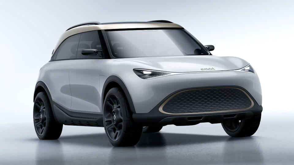 Smart's Mini-like EV concept shows off its larger vehicle ambitions