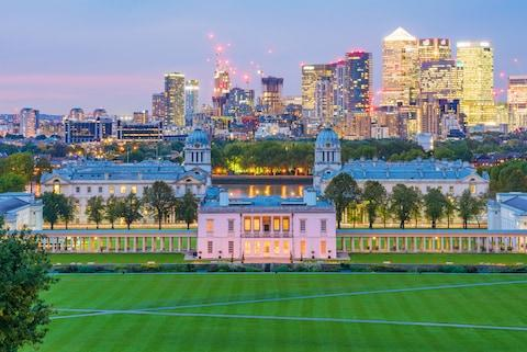 Views from Greenwich Park - Credit: STOCKINASIA