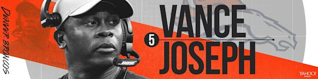 5. Vance Joseph, Denver (Yahoo Sports)
