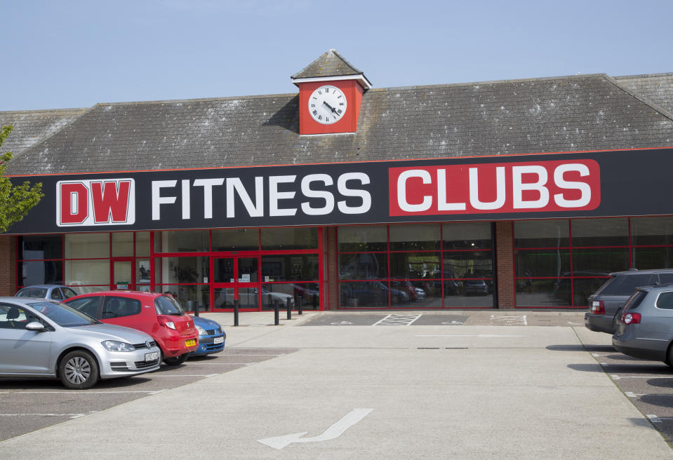 DW Fitness Clubs gym building in central Ipswich, Suffolk, England, UK. (Photo by: Geography Photos/Universal Images Group via Getty Images)