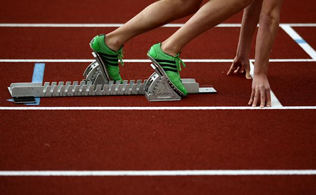 A track and field event in China has been postponed due to the coronavirus. (Photo by John Walton - PA Images via Getty Images)