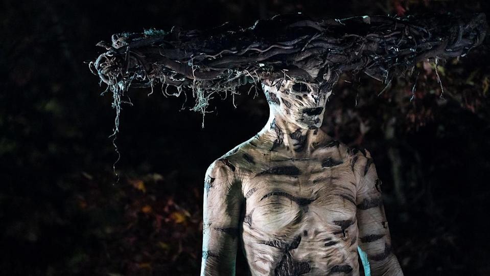 The titular monstrous guardian in Facebook Watch's The Birch, returning for a second season.